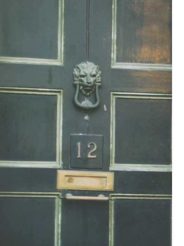 Clifton door knocker